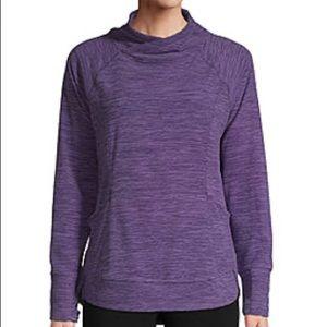 XL Purple Fleece Jacket